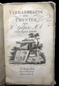Verhandeling Prenten 1787