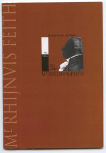 Rhijnvis Feith 2003