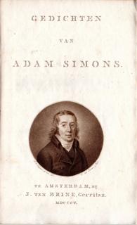 Adam Simons - gedichten