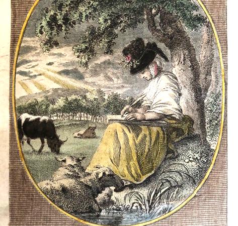 Vignet bij Reinhart 1791